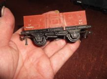 COLLECTABLE MODEL TRAIN HORNBY DUBLO OPEN VAN 13T B486865 XP 6-17 MECCANO